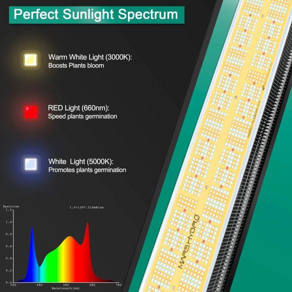 Mars Hydro SP6500 spektri